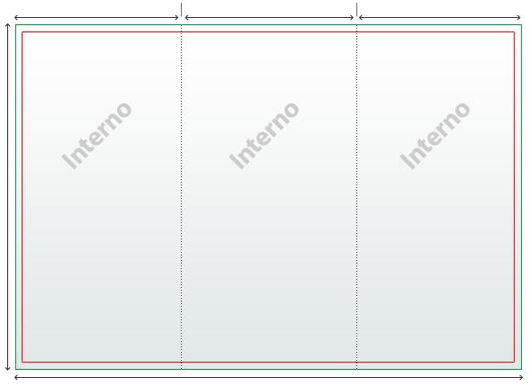 Misure Depliant 3 Ante.Usa I Modelli D Adobe Photoshop Da Overnightprints