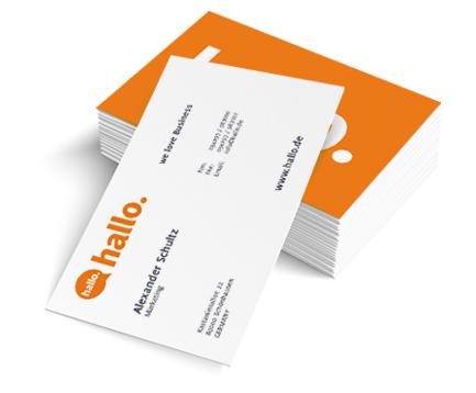 Visitenkarten Drucken Visitenkarten Günstig Online Bestellen